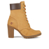 Timberland Women's Glancy 6 Inch Boots - Wheat Nubuck: Image 1