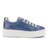 KENZO Women's K-Lace Platform Trainers - Denim: Image 1