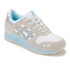 Asics Lifestyle Women's Gel-Lyte III Crystal Blue Pack Trainers - White/Light Grey: Image 2