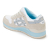 Asics Lifestyle Women's Gel-Lyte III Crystal Blue Pack Trainers - White/Light Grey: Image 4