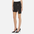 Versus Versace Women's Button Jersey Split Skirt - Black: Image 2