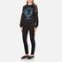 Versus Versace Women's Versus Lion Sweatshirt - Black/Blue: Image 4
