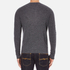 rag & bone Men's Giles Henley Top - Charcoal: Image 3
