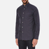 rag & bone Men's Lightweight Flannel Shirt - Navy: Image 2