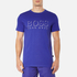 BOSS Hugo Boss Men's Large Logo T-Shirt - Medium Blue: Image 1