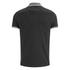 Brave Soul Men's Steranko Panel Tipped Polo Shirt - Charcoal: Image 2