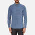 A.P.C. Men's Clift Denim Shirt - Indigo Delave: Image 1