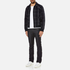 A.P.C. Men's Checked Teddy Jacket - Dark Navy: Image 4