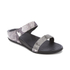 FitFlop Women's Banda Crystal Imi-Snake Slide Sandals - Mink: Image 2
