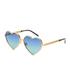 Wildfox Women's Lolita Deluxe Sunglasses - Gold/Gold Mirror: Image 2
