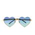 Wildfox Women's Lolita Deluxe Sunglasses - Gold/Gold Mirror: Image 1