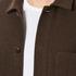A Kind of Guise Men's Yak Wool Teheran Jacket - Chocolate: Image 6