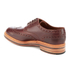 Grenson Men's Archie Pull Up Leather Brogues - Chestnut: Image 4
