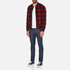 Penfield Men's Glendale Buffalo Plaid Jacket - Red: Image 4