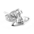 Vivienne Westwood Jewellery Women's Lorelei Stud Earrings - Rhodium: Image 2
