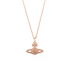 Vivienne Westwood Jewellery Women's Grace Bas Relief Pendant - Light Peach: Image 1