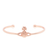 Vivienne Westwood Jewellery Women's Grace Bas Relief Bangle - Light Peach: Image 1