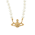 Vivienne Westwood Jewellery Women's Mini Bas Relief Choker - Light Colorado Topaz: Image 1