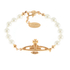 Vivienne Westwood Jewellery Women's Mini Bas Relief Bracelet - Light Colorado Topaz: Image 1