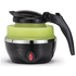 Gourmet Gadgetry Collapsible Travel Kettle - Green/Black - 0.8L: Image 4