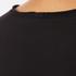 Helmut Lang Women's Medium Weight Cotton Jersey Slash Hem T-Shirt - Black: Image 5
