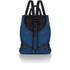 meli melo Women's Mini Backpack - Blue Wash Denim: Image 1