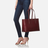 Aspinal of London Women's Regent Croc Tote Bag - Bordeaux: Image 2