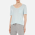 T by Alexander Wang Women's Classic Cropped T-Shirt with Chest Pocket - Wave: Image 2