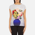 PS by Paul Smith Women's Floral Vase Pauls Photo T-Shirt - Multi: Image 1