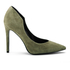 Kendall + Kylie Women's Abi Suede Court Shoes - Olive: Image 1