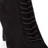 Kendall + Kylie Women's Liza Valeria Elastic Heeled Ankle Boots - Black: Image 5