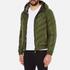Versus Versace Men's Hooded Down Jacket - Verde: Image 2