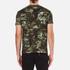 Versus Versace Men's Camo Print Crew Neck T-Shirt - Stampa: Image 3