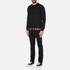 Versus Versace Men's Welt Detail Sweatshirt - Black: Image 4