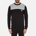 Versus Versace Men's Shoulder Detail Sweatshirt - Black: Image 1