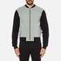 Versus Versace Men's Reverse Logo Zip Through Sweatshirt - Black: Image 1