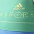 adidas Women's Stellasport Gym Tank Top - Blue/Green: Image 5