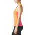 adidas Women's Stellasport Gym Tank Top - Orange/Pink: Image 2