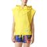 adidas Women's Stellasport Sleeveless Gym Hoody - Yellow: Image 1