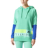 adidas Women's Stellasport Long Gym Hoody - Green/Blue: Image 1