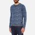 Scotch & Soda Men's Allover Print Sweatshirt - Blue: Image 2