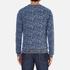 Scotch & Soda Men's Allover Print Sweatshirt - Blue: Image 3
