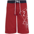Smith & Jones Men's Amplitude Swim Shorts & Flip Flops - Rift Red: Image 1