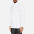 Polo Ralph Lauren Men's Custom Fit Button Down Pinpoint Oxford Shirt - White: Image 2