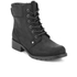 Clarks Women's Orinoco Spice Leather Lace Up Boots - Black: Image 2