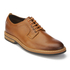 Clarks Men's Pitney Walk Leather Derby Shoes - Cognac: Image 2
