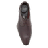 Clarks Men's Bampton Lace Leather Derby Shoes - Walnut: Image 3