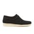 Clarks Originals Men's Weaver Shoes - Black Suede: Image 1