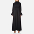 KENZO Women's Crepe Back Satin Maxi Dress - Black: Image 1