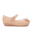 Mini Melissa Toddlers' Ultragirl Silk Bow Ballet Flats - Nude: Image 1